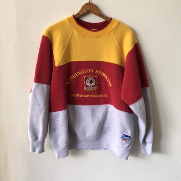 vintage redskins sweatshirt